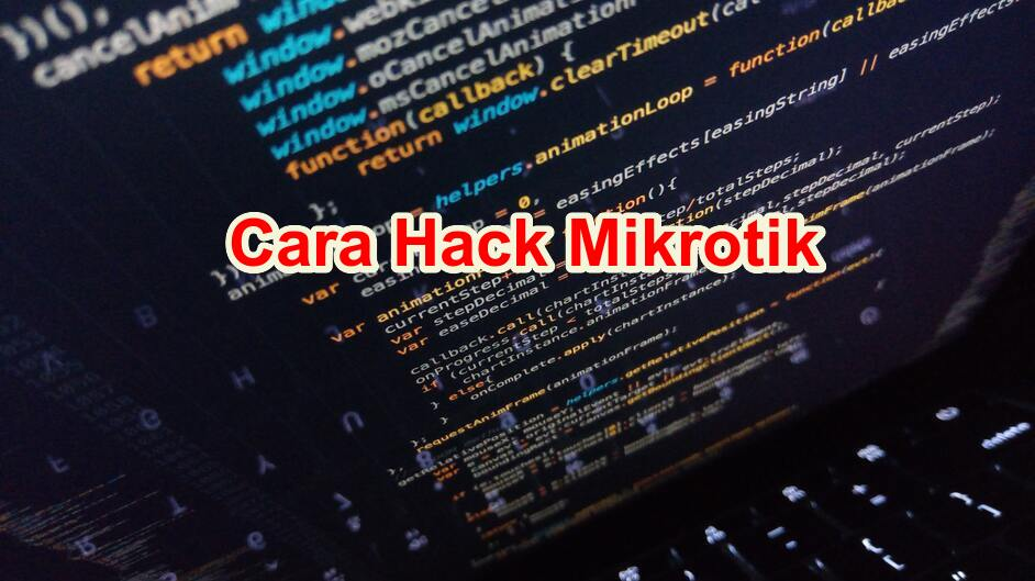 Cara Hack Mikrotik Admin Password