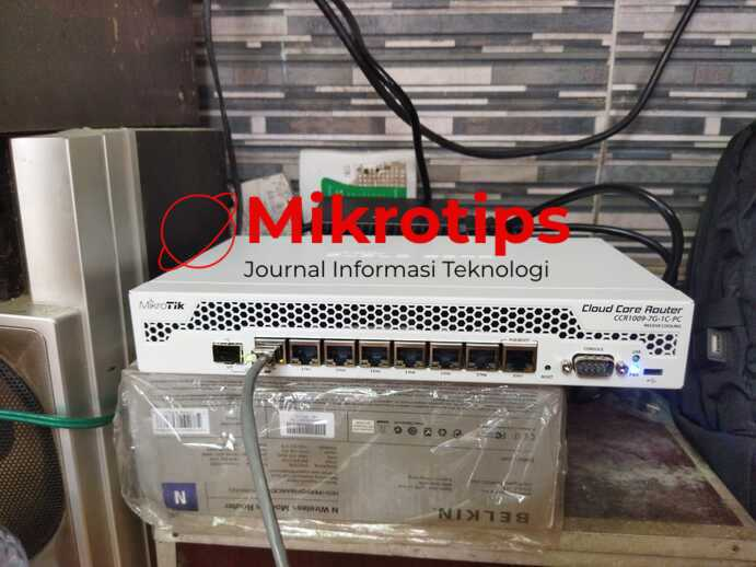 Mikrotik CCR1009-7G-1C-PC – Ulasan Pemakaian, Harga dan Perfomance